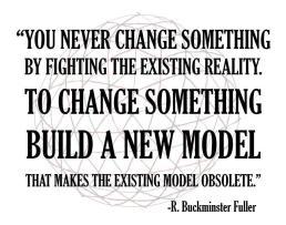 build a new model_Bunkminster Fuller